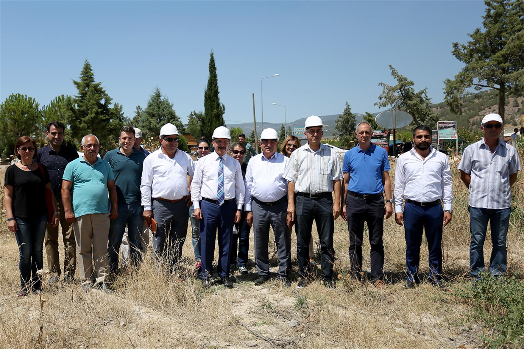 Fizik Tedavi ve Rehabilitasyon Hastanesi için Karahayıt'ta Çalışmalar Başladı 1. resim