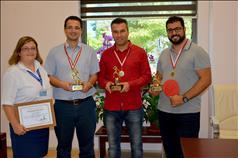 Pamukkale Üniversitesi Hastanesi'nde Gerçekleştirilen Masa Tenisi Turnuvası Sona Erdi 2. resim