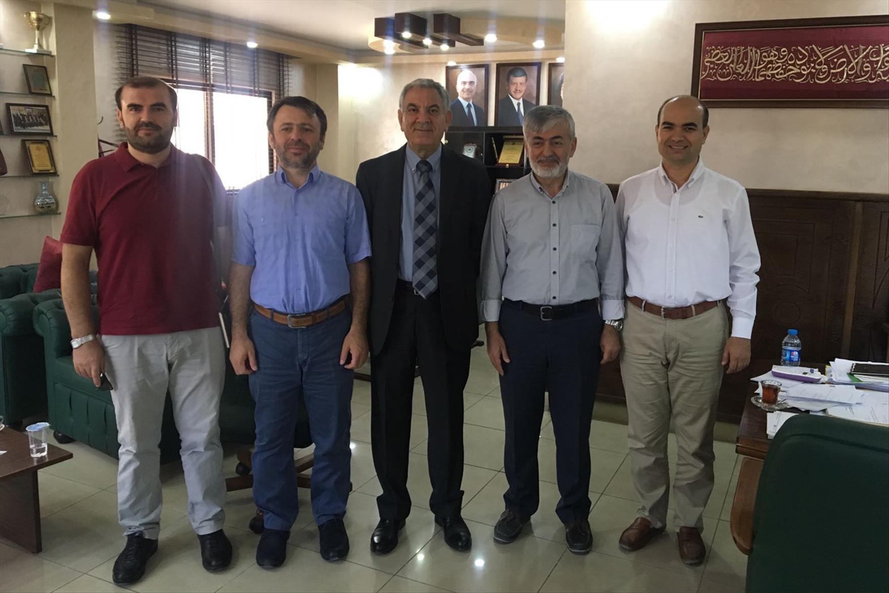 Pamukkale Üniversitesi ile Jerash Üniversitesi Arasında Mevlana Değişim Programı Protokolü İmzalandı 1. resim